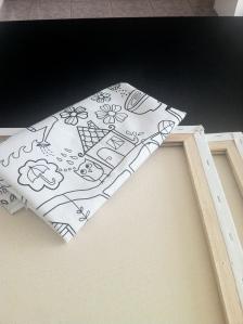 IKEA Textile TIDNY ($5.99 per meter)