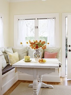 Kitchen Banquette (picture Pinned from Pinterest)