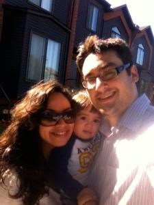 Family enjoying September 2012