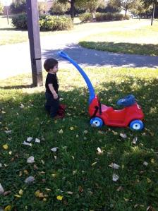 Nat at the park