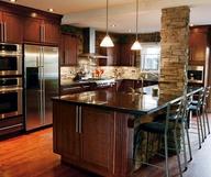 Ledgestone Kitchen backsplash inspiration via Pinterest