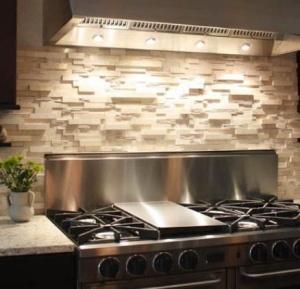 Ledgestone kitchen backsplash inspiration