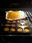 bake pumpkin cupcake and cheesecake