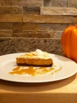 pumpkin cheesecake recipe from House and home inspired